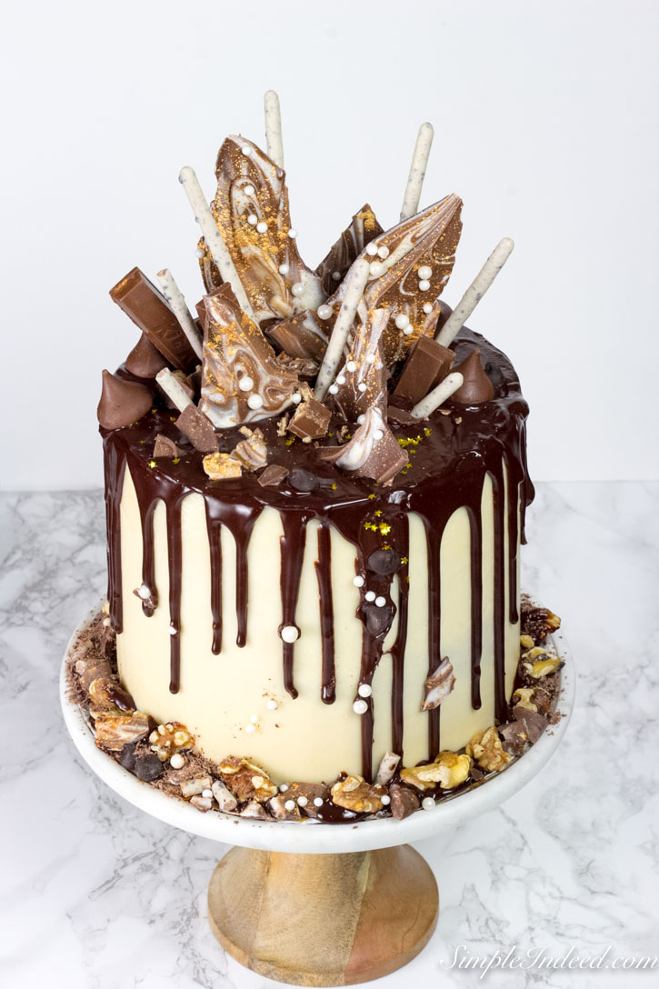 How to make a Chocolate drip cake (with all the tips and ...